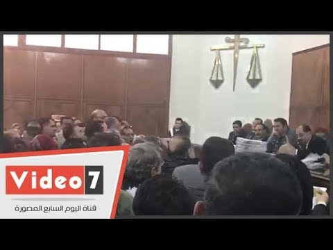 مشادات بجلسة طعون المحامين على إلغاء شروط عضوية النقابة والاشتراك  - 14:22-2017 / 11 / 12