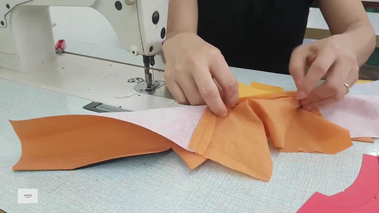 [Bài 3] – Hướng Dẫn May Cổ Áo Vest Nữ | Học May Áo Vest Online | Học cắt may cơ bản tại HN