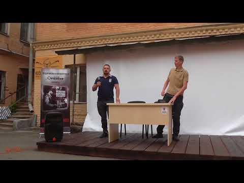 ПЛОМІНЬ: Презентація книги «Визволення Маріуполя» в Києві