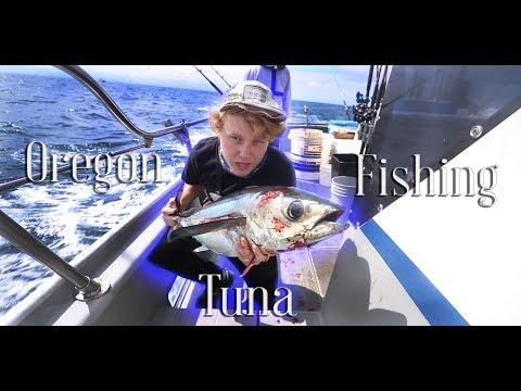 *CRAZY* Oregon Tuna Fishing--Tons Of Fish Caught! (Oregon Albacore Tuna Fishing)