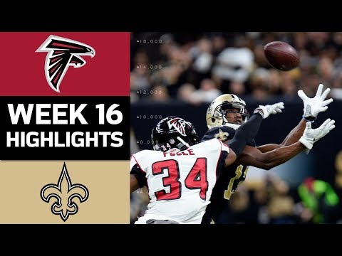 Falcons vs. Saints | NFL Week 16 Game Highlights