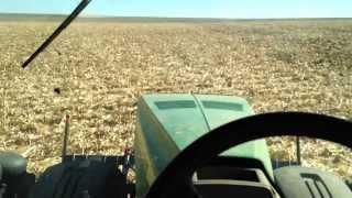 John Deere 8360R Disking with RTK GPS