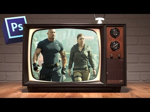 Как сделать эффект телевизора