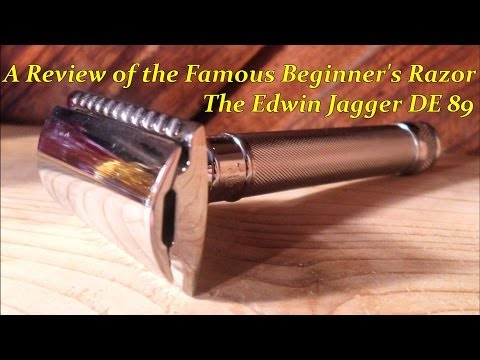 A Review of the Famous Beginner's Razor: The Edwin Jagger DE89 Razor