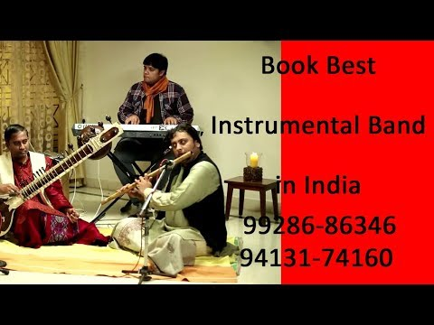 Flute Player, Indian Classical Music, Stage Tent Setup, Artist Booking Contact 9928686346