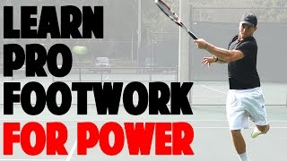 Pro Tennis Footwork Drill | How to Defend and Attack (Step By Step)