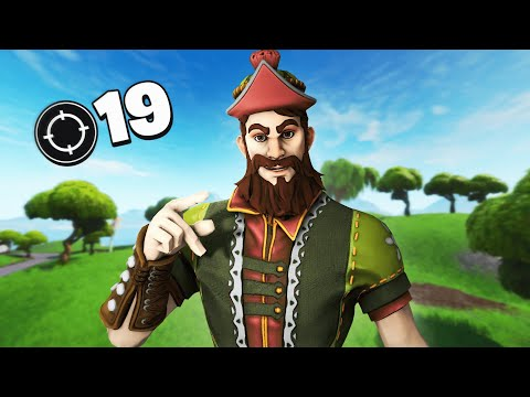CLEANING UP IN PLEASANT - 19 Kill Solo Gameplay (Fortnite)