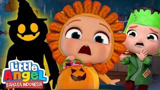 Jangan Takut Dengan Monster! | Lagu Halloween Anak | Little Angel Bahasa Indonesia