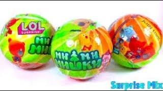 Мимимишки LOL. Игрушки мимимишки. Распаковка игрушек из мультика мимимишки. Куклы ЛОЛ. Mimimishki