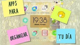 Aplicaciones móviles para estudiantes ¿Cómo organizo mi tiempo?