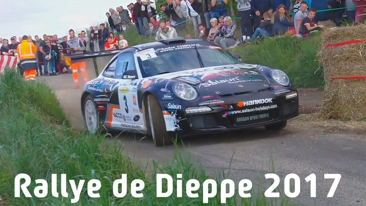 Rallye de dieppe 2017 best of Cosson PORSCHE 997 gt3 #PURE SOUND - YouTube