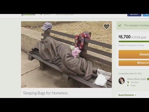 Twin Cities Women Deliver Below Zero Sleeping Bags To Homeless