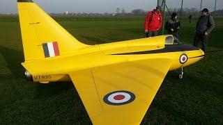 boulton paul p 111 xxxxl rc turbine jet model scale 1 2 15