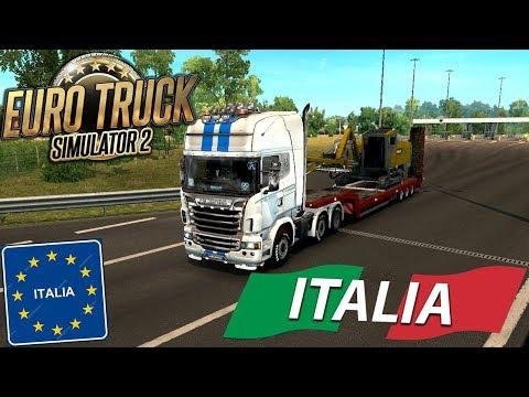 VOYAGE EN ITALIE 🇮🇹 ! ! DLC ITALIA | Euro Truck Simulator 2