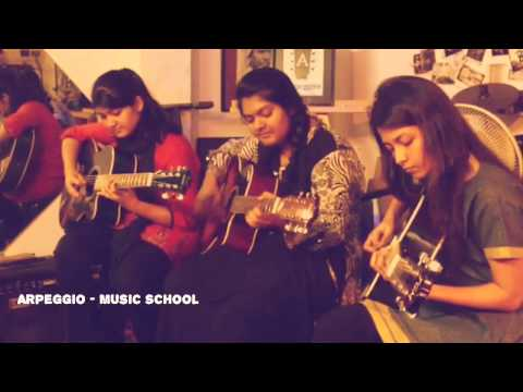 Random Jamming by the students - Arpeggio