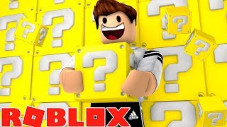 LUCKY BLOCKS BATTLE IN ROBLOX