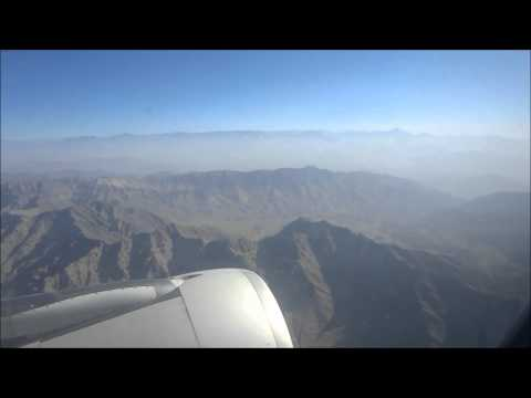 Air Arabia dramatic landing at Kabul International Airport