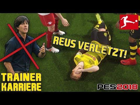 DEUTSCHLAND STELLT NEUEN BUNDESTRAINER VOR!😱 Bundesliga Trainer Karriere - Pro Evolution Soccer 2018