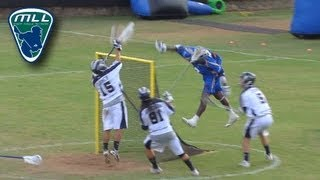 Major League Lacrosse: Best Plays of 2012