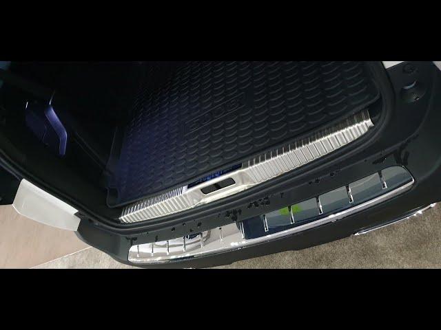 Hướng dẫn lắp đặt nẹp cốp xe Peugeot 5008