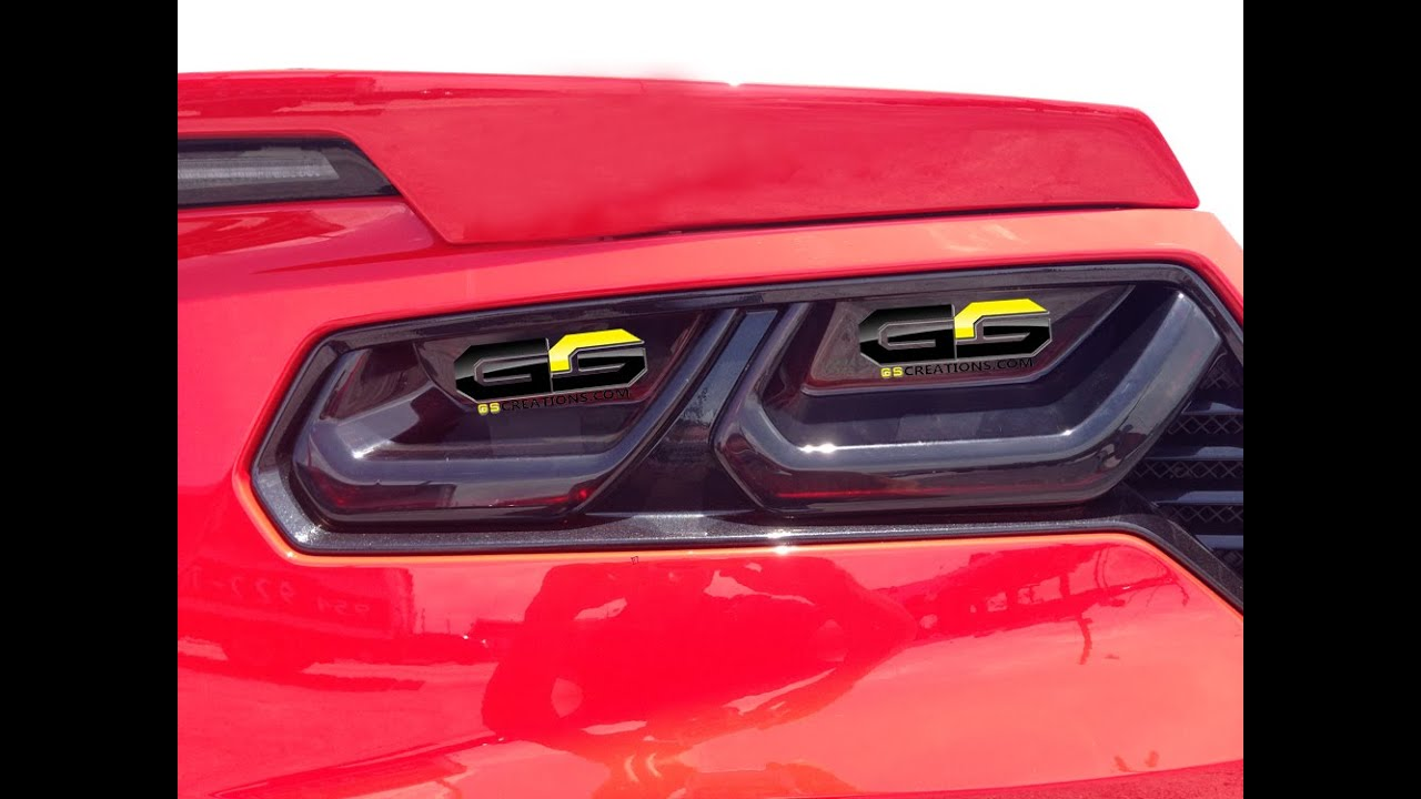 C7 Stingray Corvette Tail Light Blackout Installation