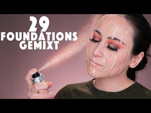 29 Foundations mischen❗️ Die perfekte Foundation für 1000€ ? Hatice Schmidt