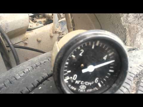 Scania давление масла