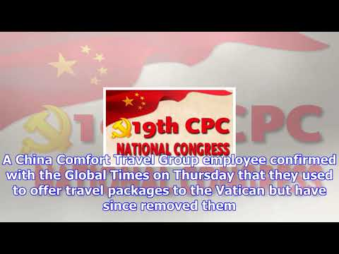 Chinese travel agencies fined for tour packages to palau, the vatican