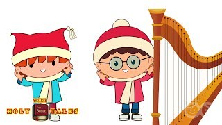 Little David I Animated Froztee And Friend Songs | HolyTales Bible Songs