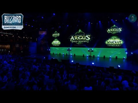 Ion Hazzikostas Present Patch 7.3 Shadows of Argus at Gamescom 2017