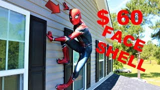 $60 Spiderman face shell review