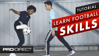 Top 3 football skills you CAN do in a match   How to Soccer Tricks Tutorial