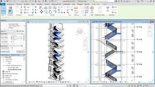 Multistory stairs | Revit 2018: New Features for Architecture from LinkedIn Learning