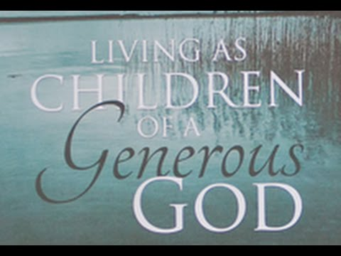 Living as children of a generous god bible study intro for Generous living