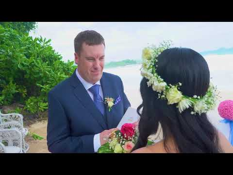 Our wedding in Seychelles 13/06/19 (clip 1)