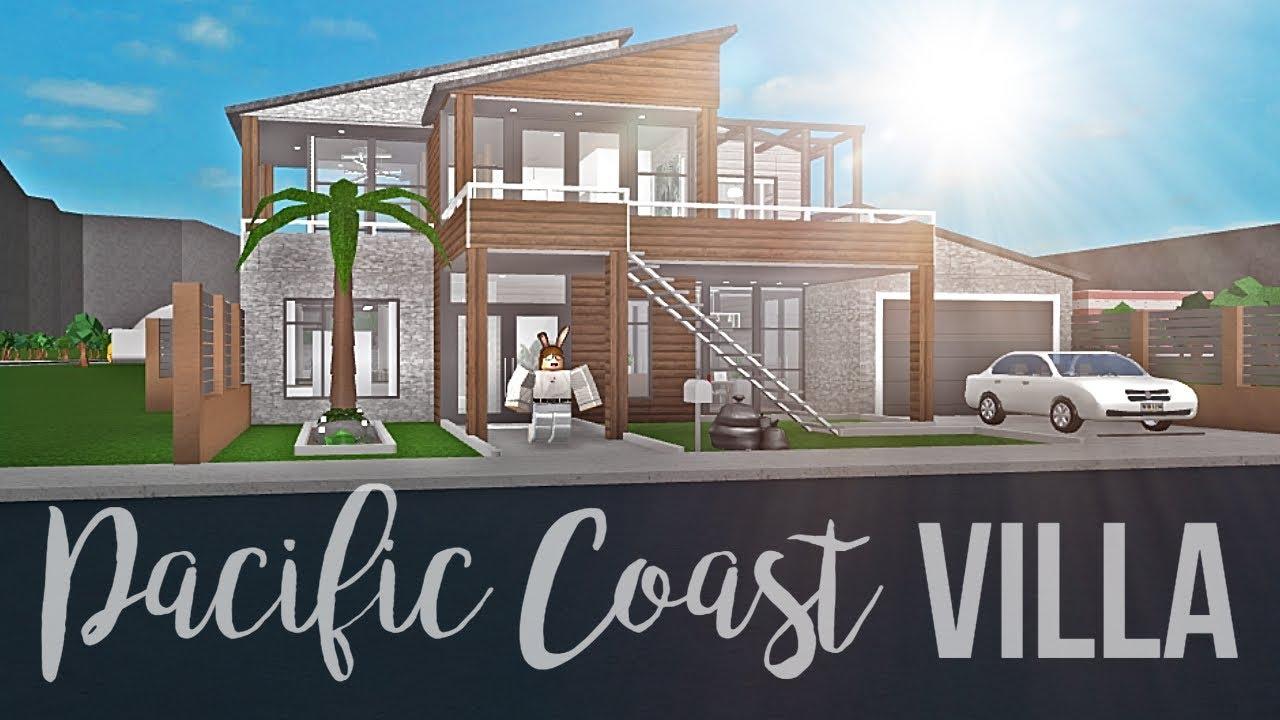 Bloxburg Pacific Coast Villa 105k Youtube