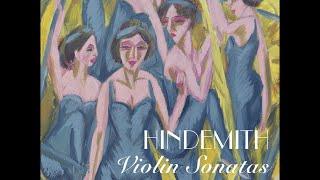 Paul Hindemith—Violin Sonatas—Tanja Becker-Bender (violin), Péter Nagy (piano)