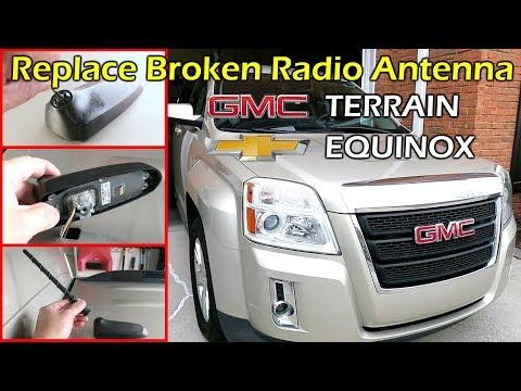 How To Replace Broken Radio Antenna GMC Terrain Chevy Equinox (2013 – 2017)