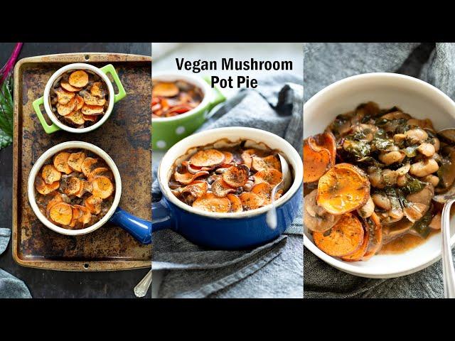 VEGAN MUSHROOM POT PIE | Vegan Richa Recipes