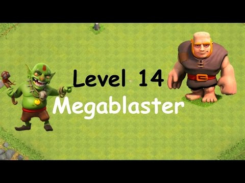 Clash Of Clans - Single Player Campaign Walkthrough - Level 14 - Megablaster