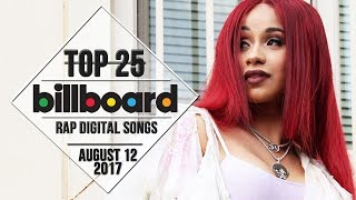Top 25 • Billboard Rap Songs • August 12, 2017 | Download-Charts 2017 Video