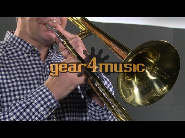 Bb//F Tenor Trombone by Gear4music
