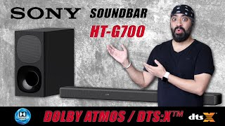 Sony HT-G700 Dolby Atmos & DTS -X Soundbar with Wireless Woofer - Feel the Thunder!