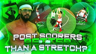 MY POST SCORER SHOOTS BETTER THAN YOUR PURE STRETCH BIG! THE BEST JUMPSHOT ON NBA 2K19!