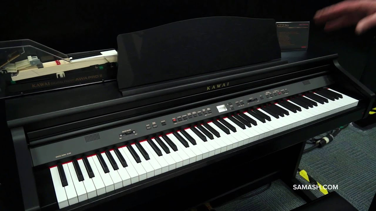 kawai ce220 digital piano namm 2014 youtube. Black Bedroom Furniture Sets. Home Design Ideas