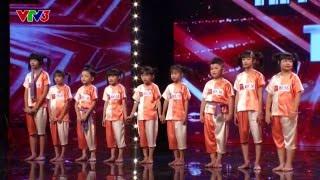 Vietnam's Got Talent 2016 - TẬP 5 - Nhảy hiện đại trên nền nhạc dân gian - Nhóm CC KIDS