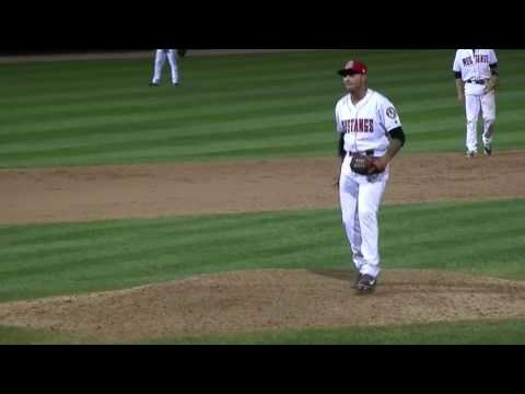 Fabian Roman gets the save for Cincinnati Reds minor league affiliate Billings mustangs