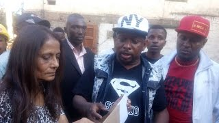Senator Sonko leads youth in stopping alleged land grabbing