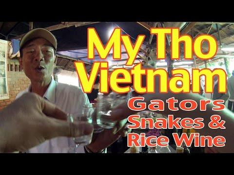 My Tho, Vietnam: Gators, Snakes, and Rice Wine
