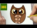 HOW TO DRAW A OWL CUTE Easy Step By Step Drawing Lessons For Kids mp3